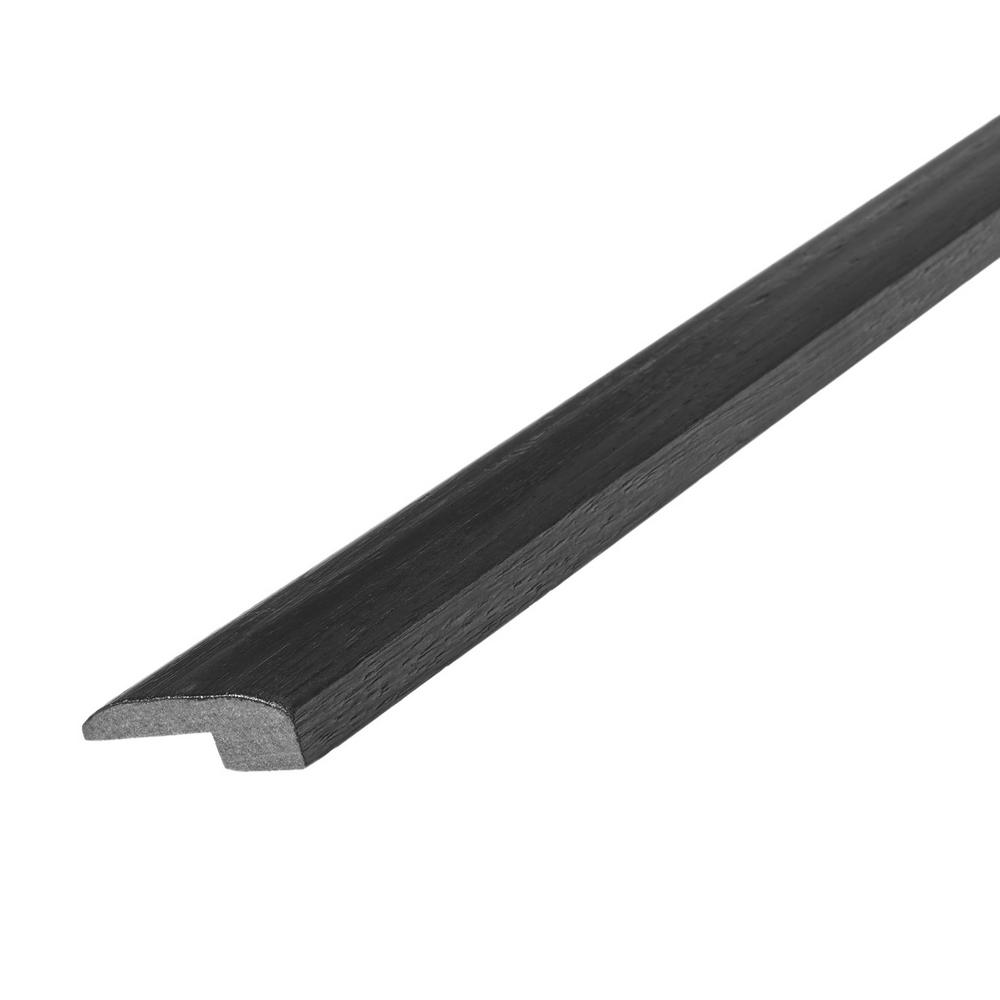 Shaw Vista Atlantic Grey 1/8 in. Thick x 1-3/8 in. Wide x 94 in. Length Vinyl Baby Threshold Molding