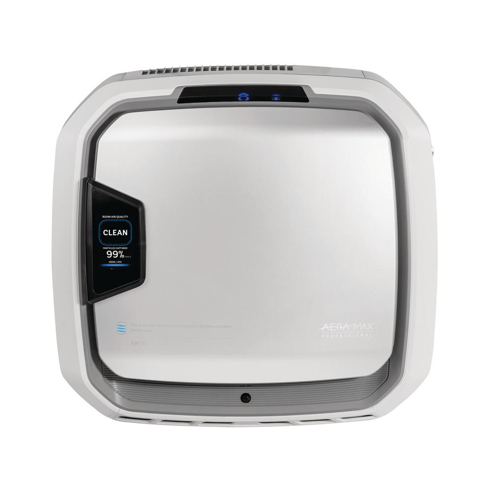 Fellowes AeraMax PureView Pro AM3 PC True HEPA 700 sq. ft. Wall-Mountable Allergen Remover Stainless Air Purifier