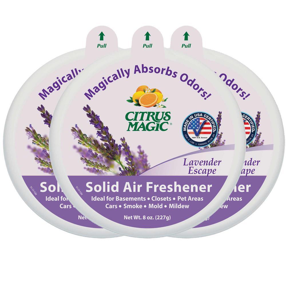 8 oz. Lavender Escape Odor Absorbing Air Freshener (3-Pack)