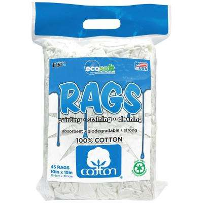 10 in. x 15 in. EcoSoft Rags (45-Pack)