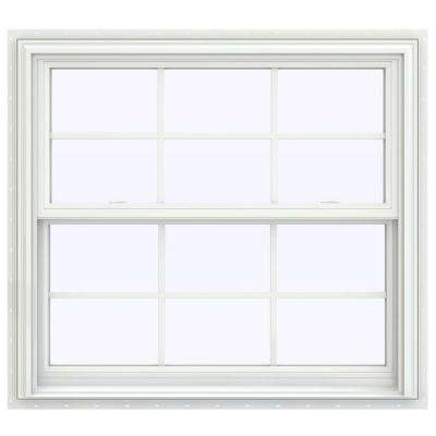 V-2500 Series Double Hung Vinyl Window with Grids