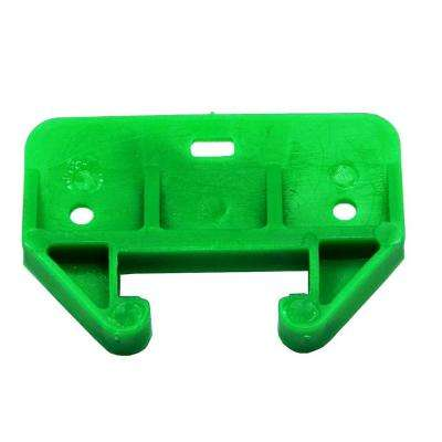 1.6 in. Green Plastic Drawer Track Guide (2-Pack)