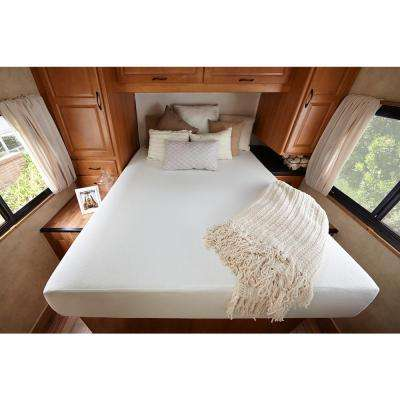 Ultima Comfort 10 in. Short Queen Memory Foam RV Mattress