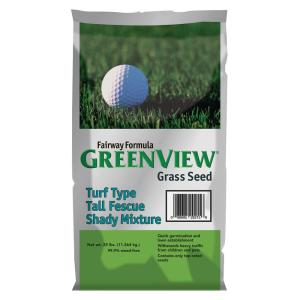 GreenView 25 lbs. Fairway Formula Turf Type Tall Fescue Shady Grass Seed Mixture by GreenView