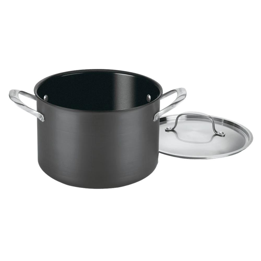 GreenGourmet 8 Qt. Aluminum Stock Pot with Lid
