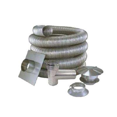 6 in. x 35 ft. All Fuel Stainless Steel Kit