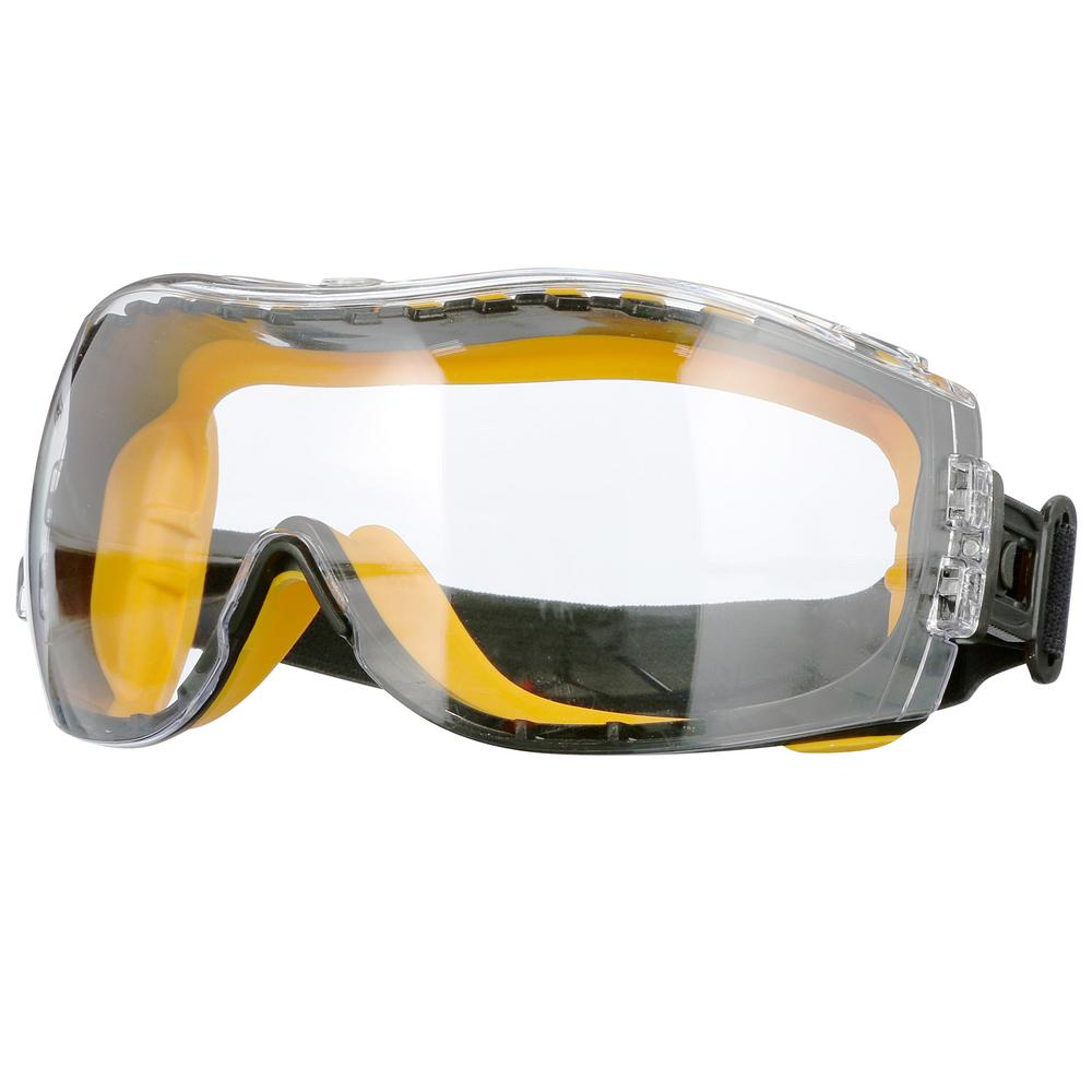 5cb0a572fe9 Safety Goggles Concealer Clear Anti-Fog Lens Protective Work Eye Glasses