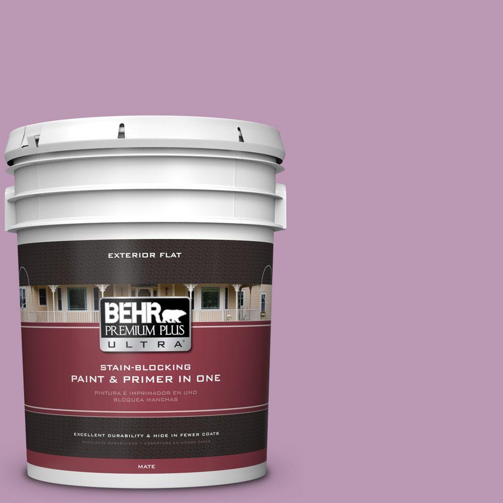 BEHR Premium Plus Ultra 5-gal. #M110-4 Cherished Flat Exterior Paint