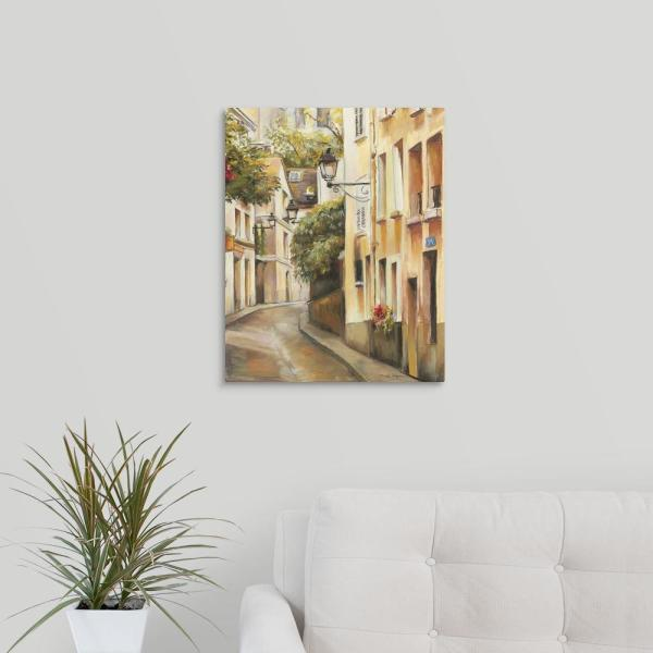 GreatBigCanvas 16 in. x 20 in. ''Montmartre II'' by Marilyn Hageman