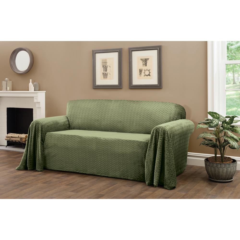 Innovative Textile Solutions Mason Green Furniture Throw ...