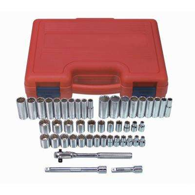 Socket Set 3/8 Drive 12-Point (47-Piece)