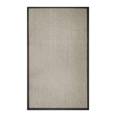 Sisal Black 8 ft. x 10 ft. Indoor Area Rug