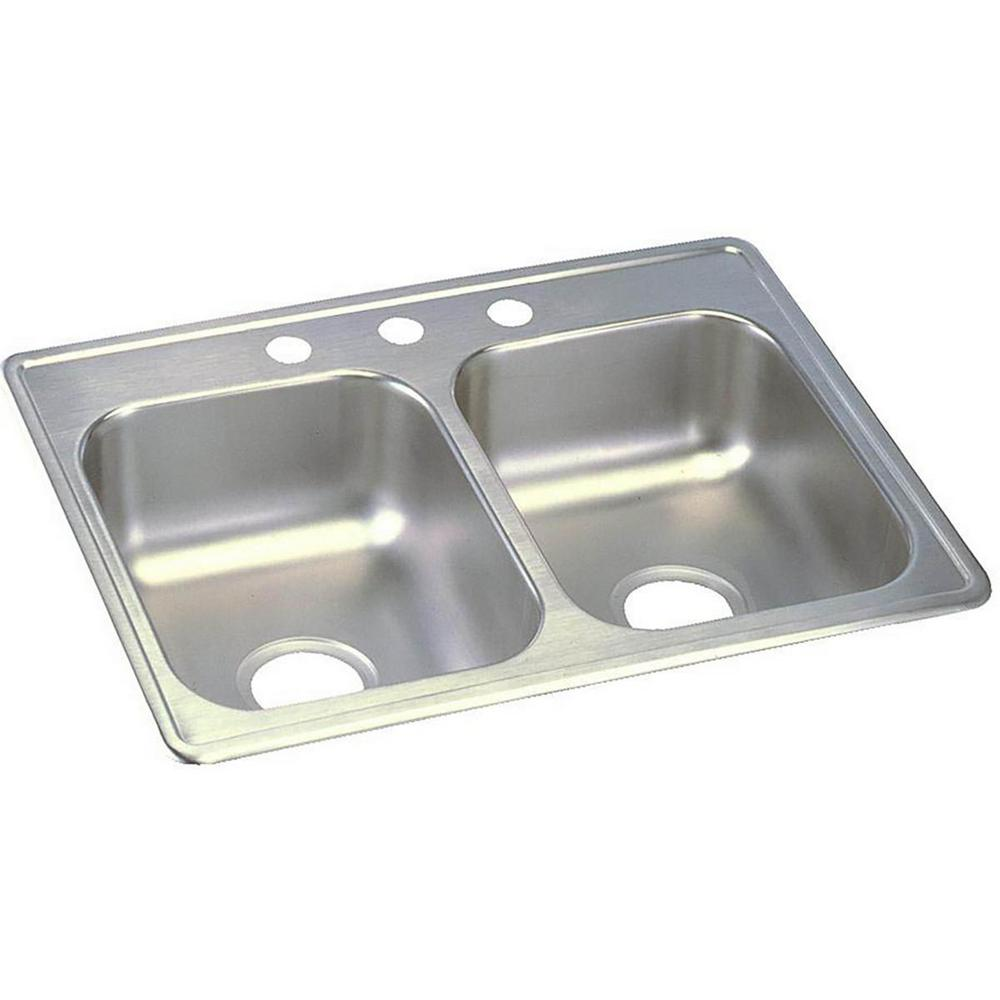 dayton kitchen sinks elkay dayton drop in stainless steel 25 in 4 3107