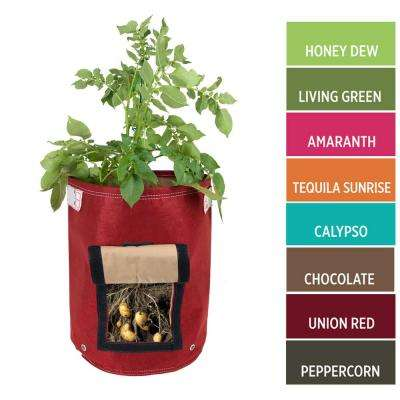 9 Gal. Chocolate Fabric Potato Planter Bag