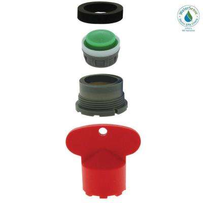1.5 GPM Delta Cache 13/16-27 Male Water-Saving Aerator with Key