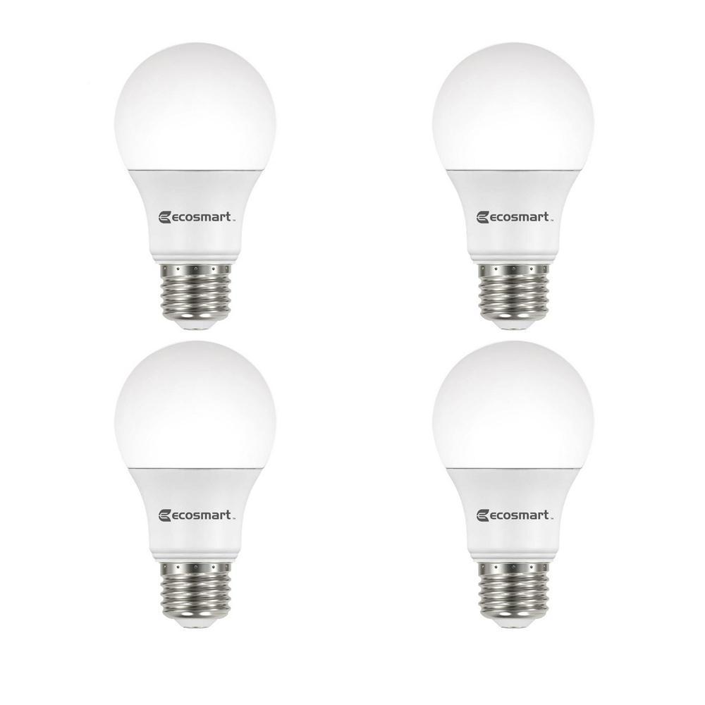 Daylight Led Bulbs: EcoSmart 40-Watt Equivalent A19 Dimmable Energy Star LED