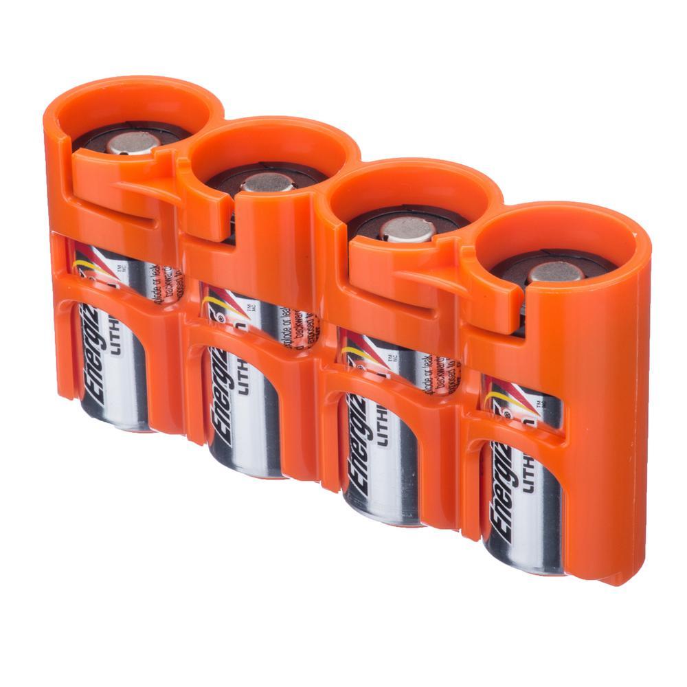 Storacell Slim Line CR123 Battery Organizer and Dispenser
