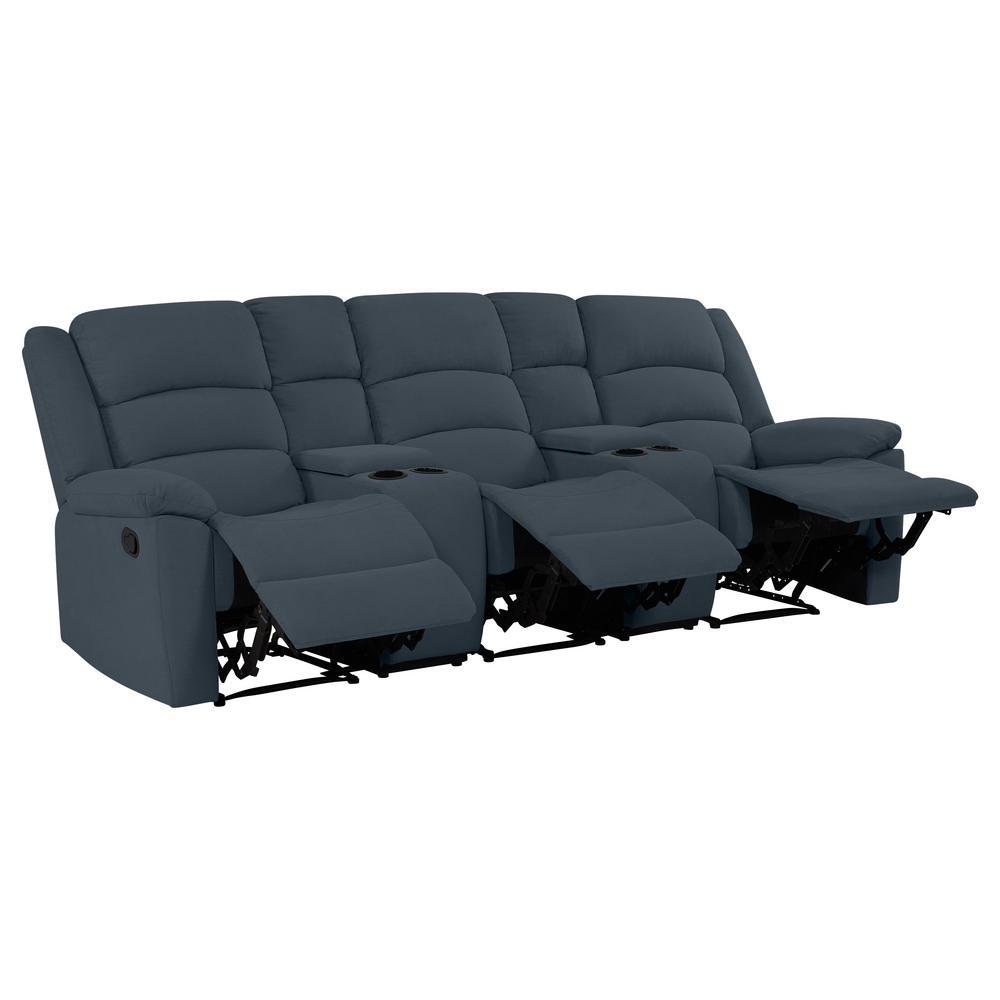 Sensational Prolounger 3 Seat Dark Brown Microfiber Wall Hugger Recliner Gamerscity Chair Design For Home Gamerscityorg