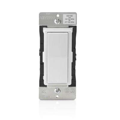 Decora Smart with Z-Wave Technology 15 Amp Switch, White/Light Almond