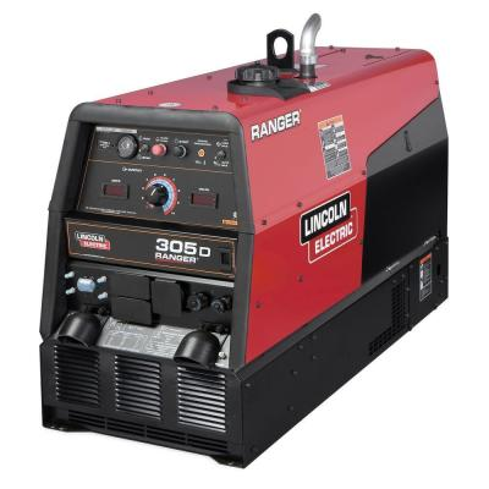 300 Amp Ranger 305 D Diesel Engine Driven Multi-Process DC Welder, 10 kW Peak Generator (Kubota Tier 4 Diesel)