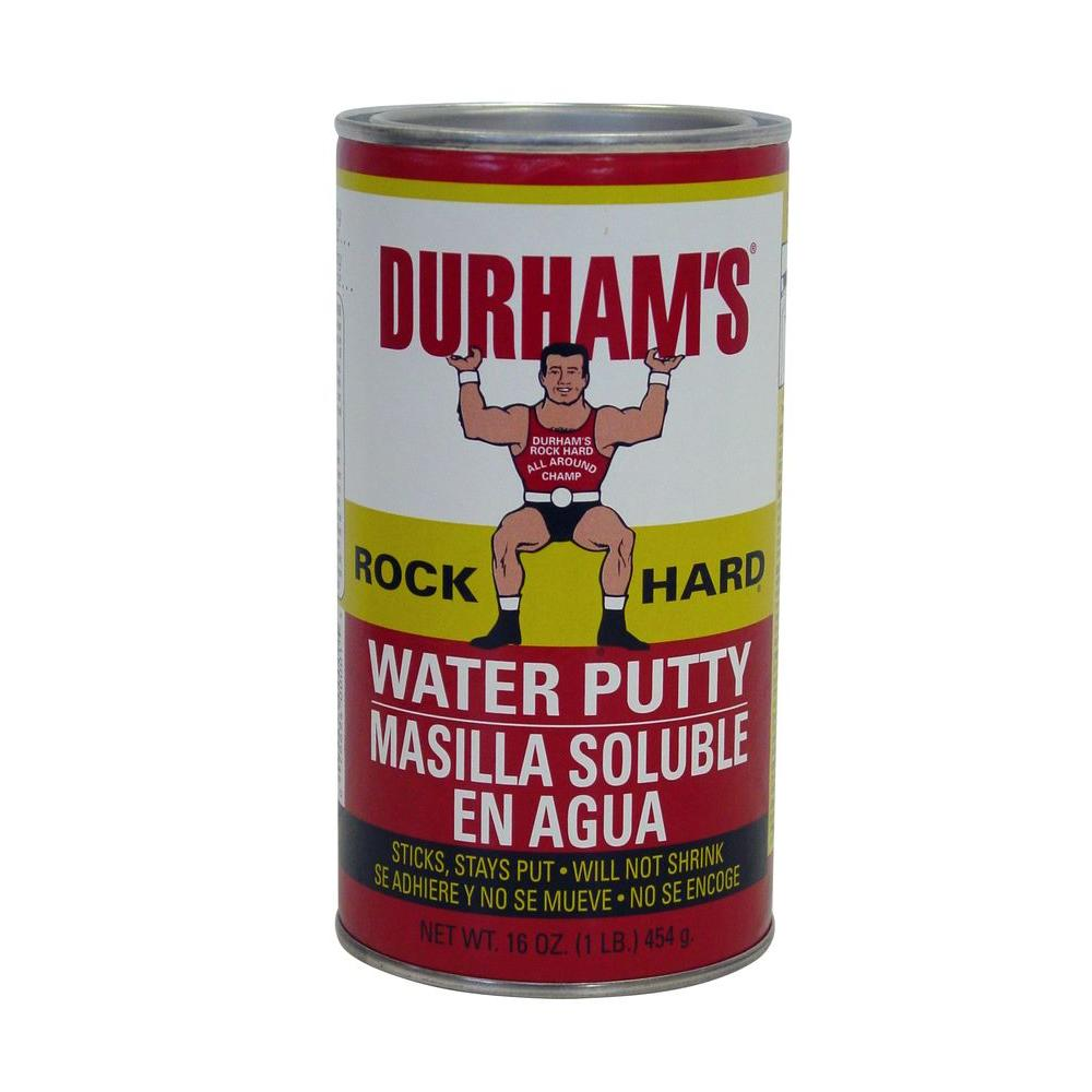 Durham S Rock Hard Du 1 1 Lb Water Putty 1 Can The Home Depot