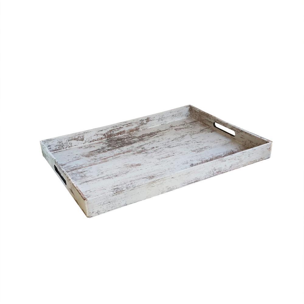 American Atelier Birch Wood Polypropylene Rectangular Tray 1270514
