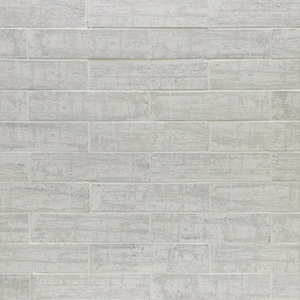 Ivy Hill Tile Metro Brick White 3 in. x 9 in. x 10mm Natural Clay Subway Wall Tile (30 pieces / 4.65 sq. ft. / box)