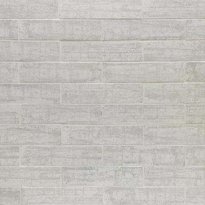 Metro Brick White 3 in. x 9 in. x 10mm Natural Clay Subway Wall Tile (30 pieces / 4.65 sq. ft. / box)