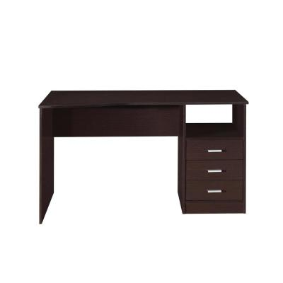 Wenge Classic Computer Desk with Multiple Drawers