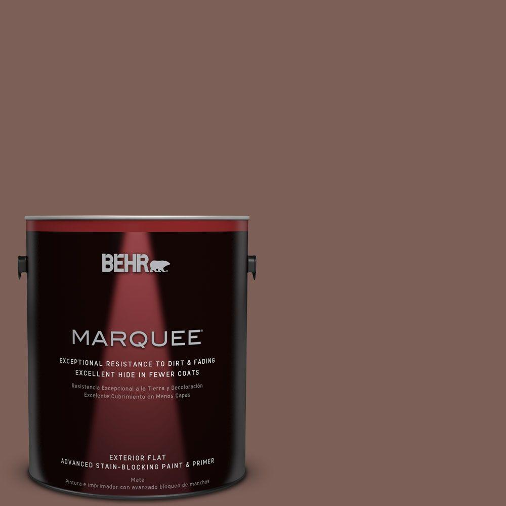 BEHR MARQUEE 1-gal. #MQ1-57 Secret Journal Flat Exterior Paint