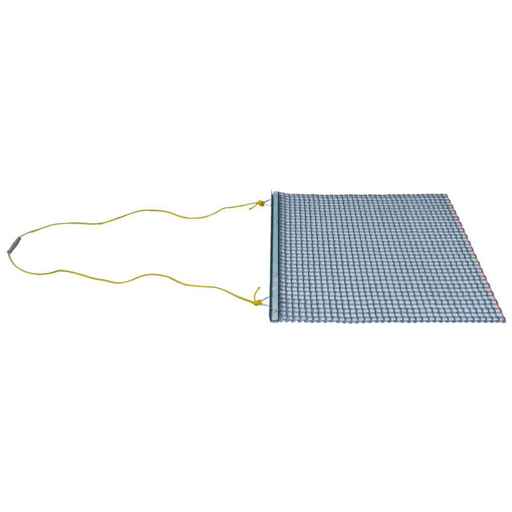 ATV/UTV 3 ft. x 3 ft. Zinc Plated Field Surface Leveling Drag Mat