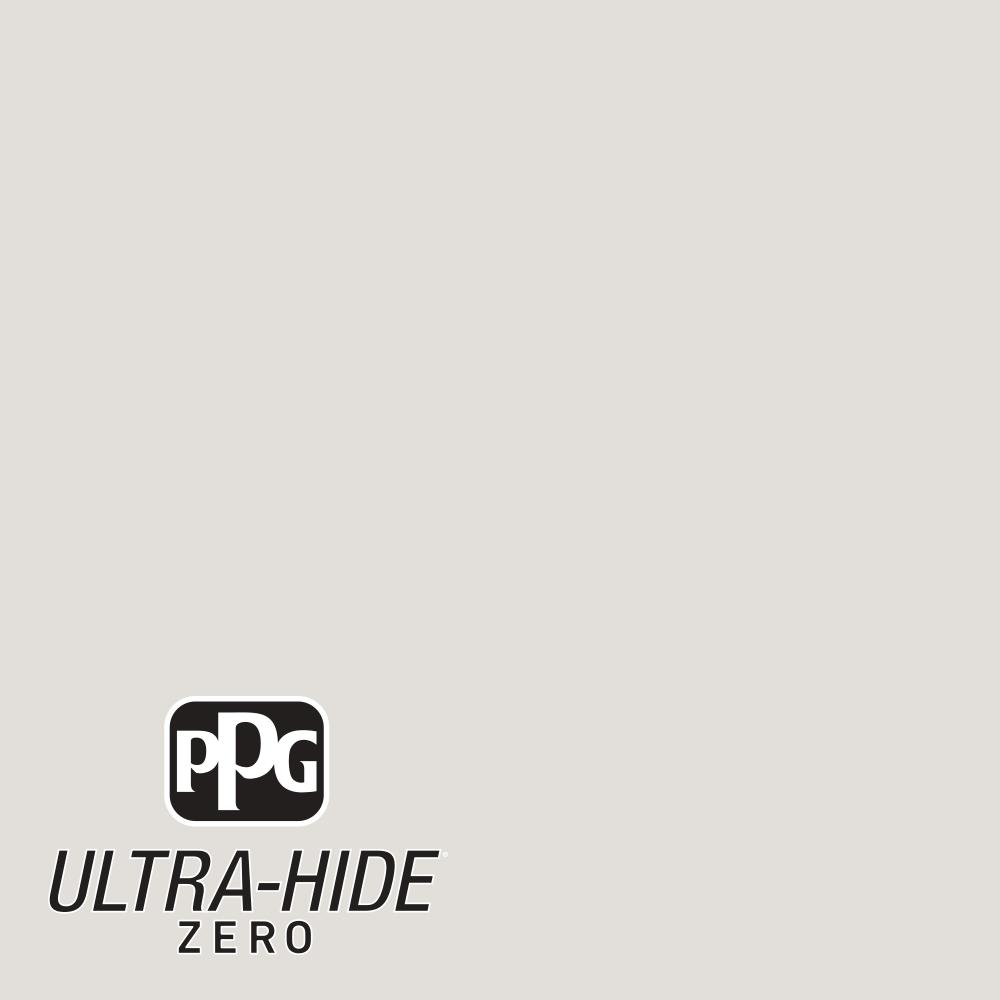 PPG 5 gal. #HDPWN48 Ultra-Hide Zero Toasted White Semi-Gloss Interior Paint