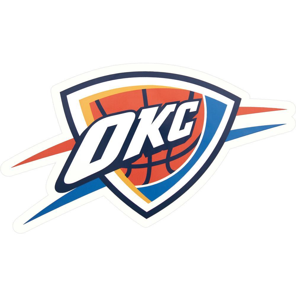 NBA Oklahoma City Thunder Outdoor Logo Graphic- Large