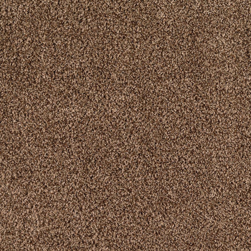 SoftSpring Lavish II - Color Lumber Yard 12 ft. Carpet