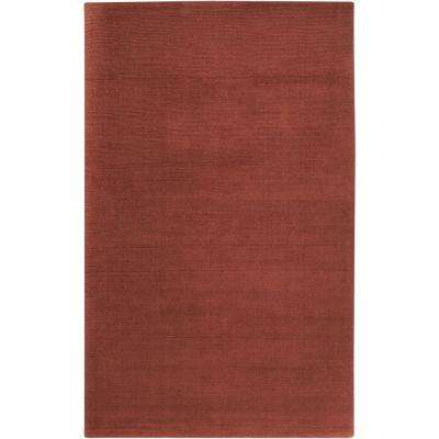 Falmouth Burgundy 6 ft. x 9 ft. Indoor Area Rug