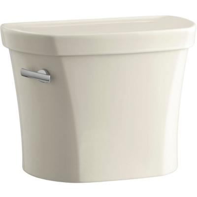 Wellworth 1.28 GPF Single Flush Toilet Tank Only in Almond