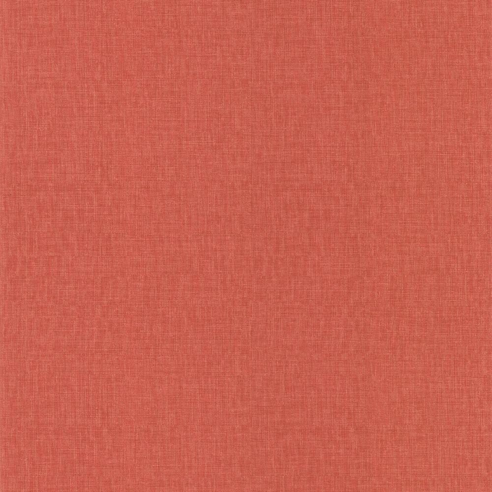 Brewster Pollyanna Red Linen Texture Wallpaper