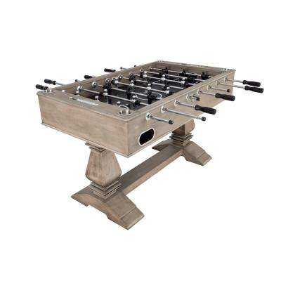 Montecito 55 in. Foosball Table with Drink Holders and Analog Scoring in Driftwood