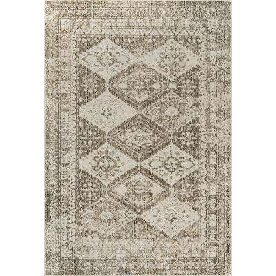 Patio Starlight Gray 5 ft. 2 in. x 7 ft. 2 in. Indoor/Outdoor Area Rug