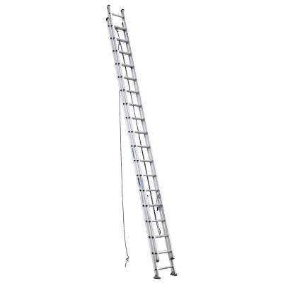 36 ft. Aluminum D-Rung Extension Ladder with 300 lb. Load Capacity Type IA Duty Rating