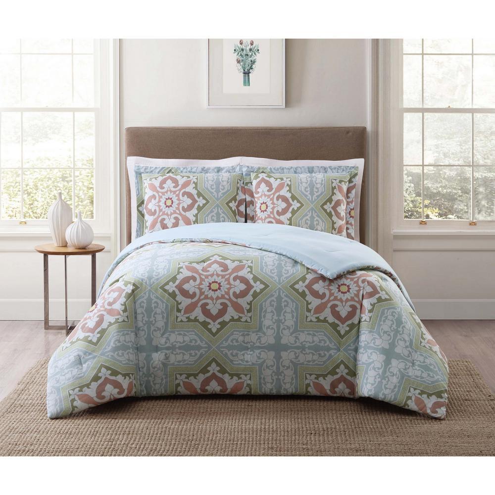 Sheffield Green Twin XL Comforter Set