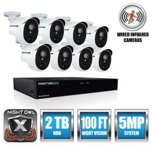 Night Owl Extreme Hd 8 Channel 5mp 2tb And Up Hdd