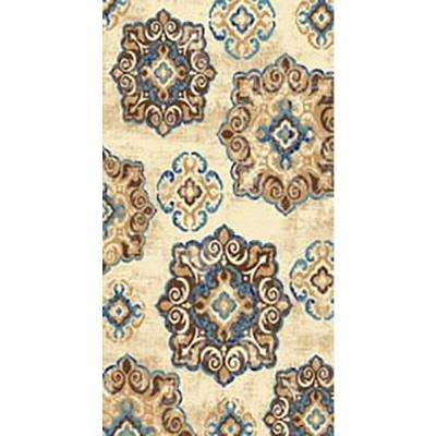 Leila Collection Multi-Colored 3 ft. x 5 ft. Area Rug