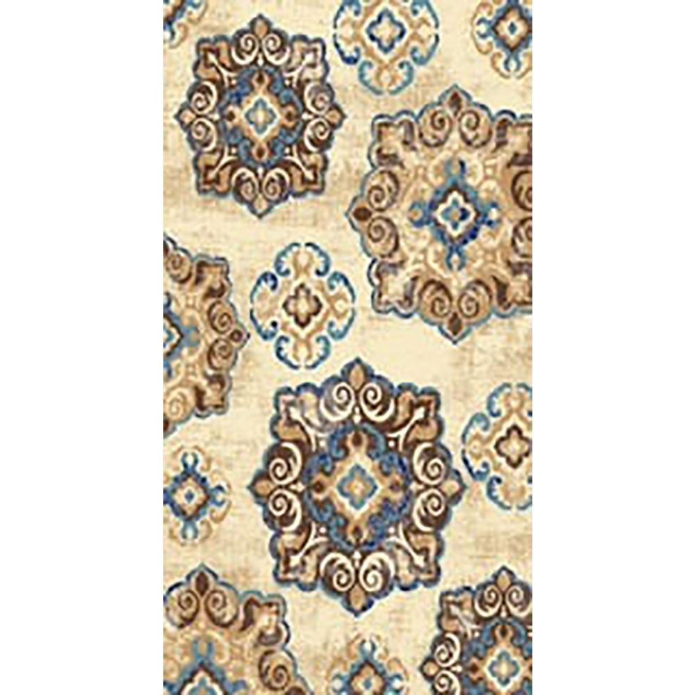 Maxy Home Leila Collection Multi Colored 8 Ft X 10 Area Rug