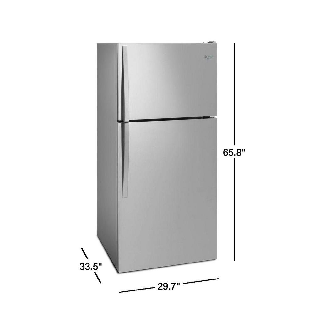 18 2 Cu Ft Top Freezer Refrigerator
