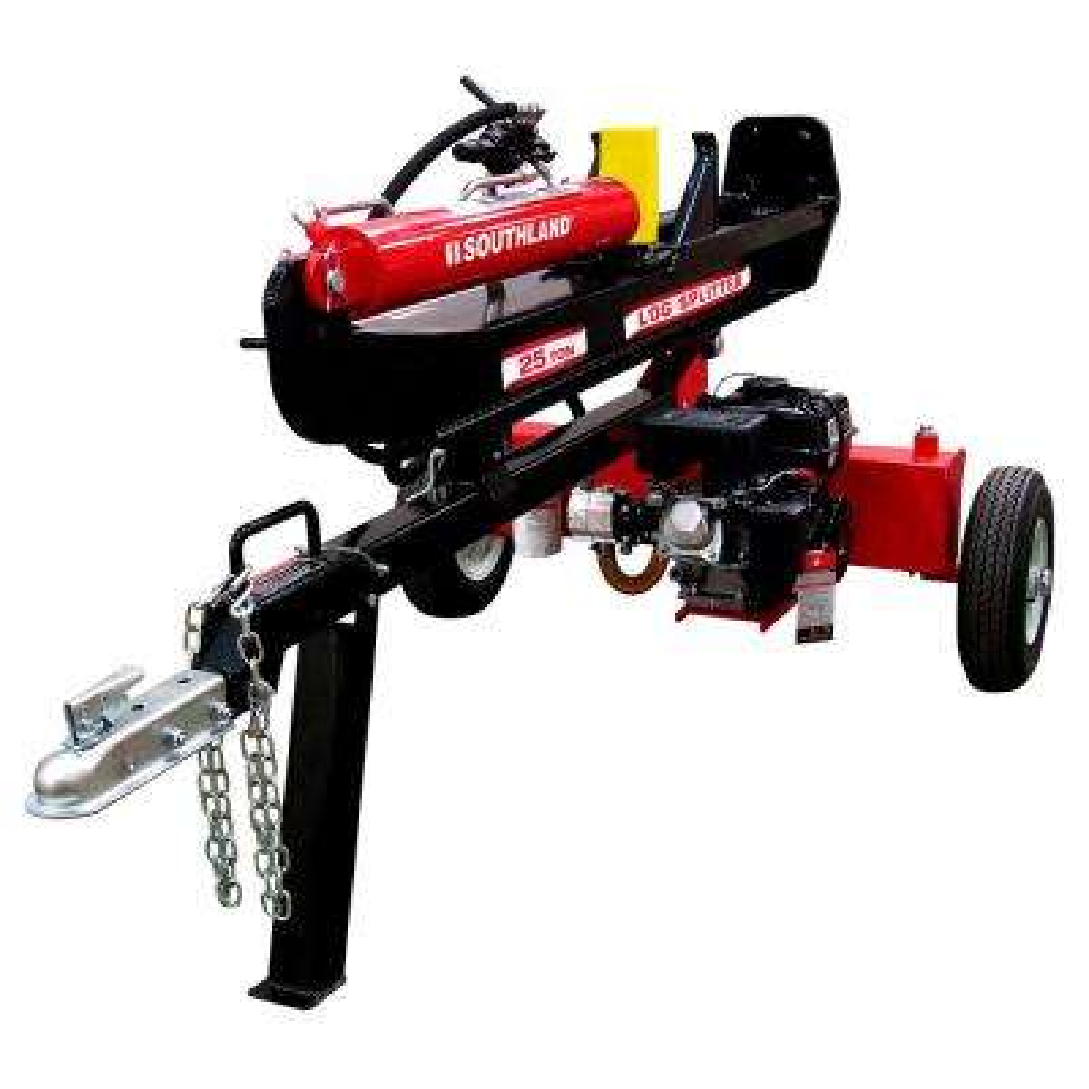 25-Ton 208cc Gas Log Splitter