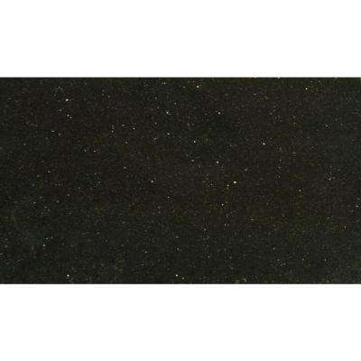 Black Galaxy 18 in. x 31 in. Polished Granite Floor and Wall Tile (7.75 sq. ft. / case)