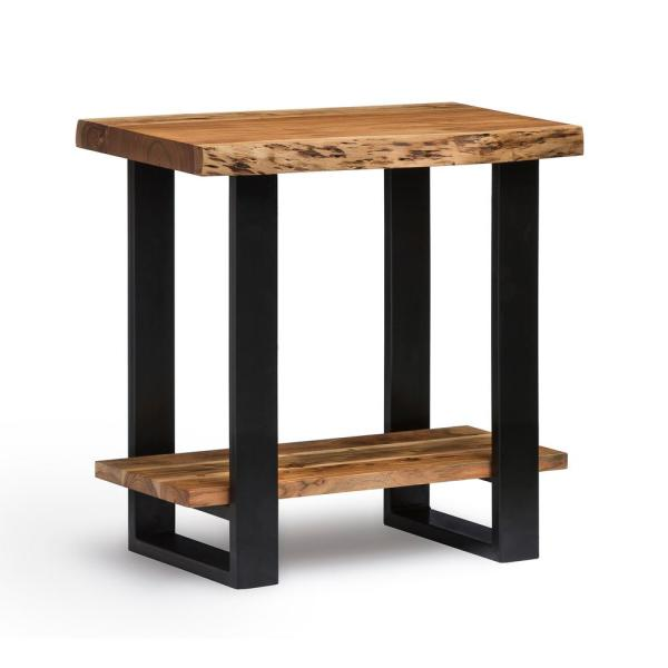 Alaterre Furniture Alpine Natural End Table