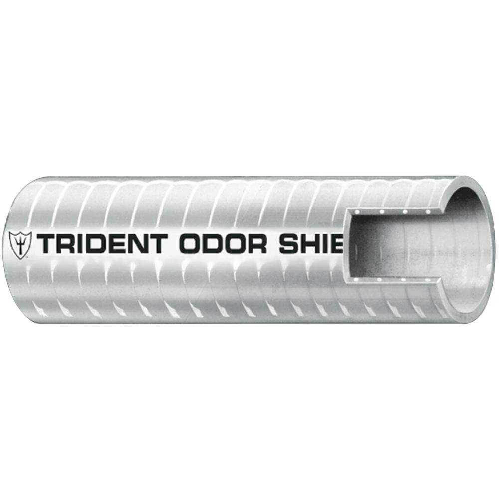 1 in. x 50 ft. Sanitation Hose Odor Shield, Gray
