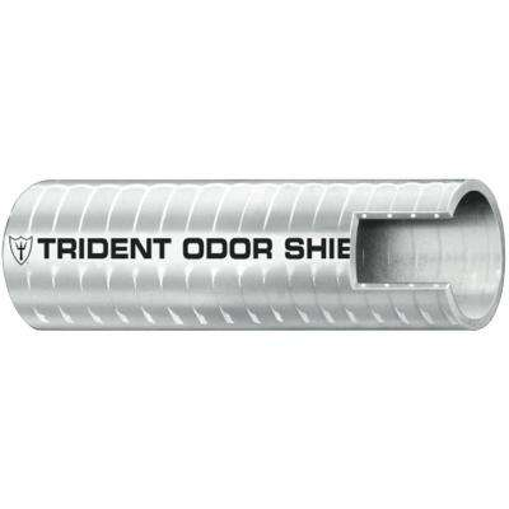 1-1/2 in. x 50 ft. Sanitation Hose Odor Shield, Gray